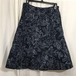 EUC Size 6 Christopher & Banks Skirt